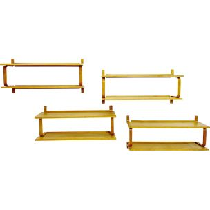 Set of 4 vintage shelves Alvar Aalto 1950s