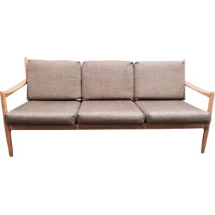 Vintage 3-seater sofa Scandinavian design 1960