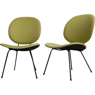 Vintage pair of dining chairs model 301 by Kembo,1960