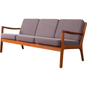 Vintage 3-seater sofa by Ole Wanscher,1960