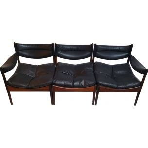 Vintage Modus Lounge set by Kristian Vedel for Saren Willadsen,1960