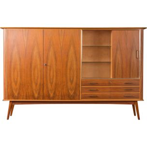 Walnut buffet from the 1950s