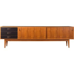 Vintage walnut sideboard from the 50s