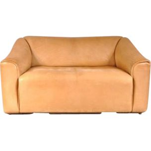 Vintage DS47 sofa by De Sede in beige leather 1960s