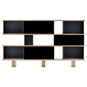 """526 NUAGE -  WALL UNIT MX TYPE"" bookcase, Charlotte Perriand for CASSINA"