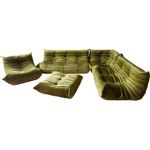 Vintage Living room set Togo by Michel Ducaroy for Ligne Roset, 1970s