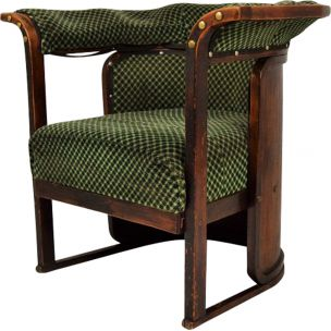 Vintage armchair Buenos Aires by Josef Hoffmann,1930