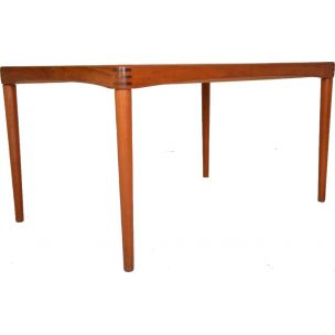 Vintage dining table for Bramin in teak 1960