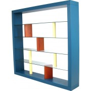 Fontane Arte bookcase in wood and glass, Ettore SOTTSASS - 1993