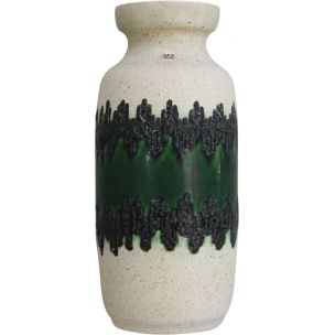 Vintage ceramic vase from Bay Keramik 1970