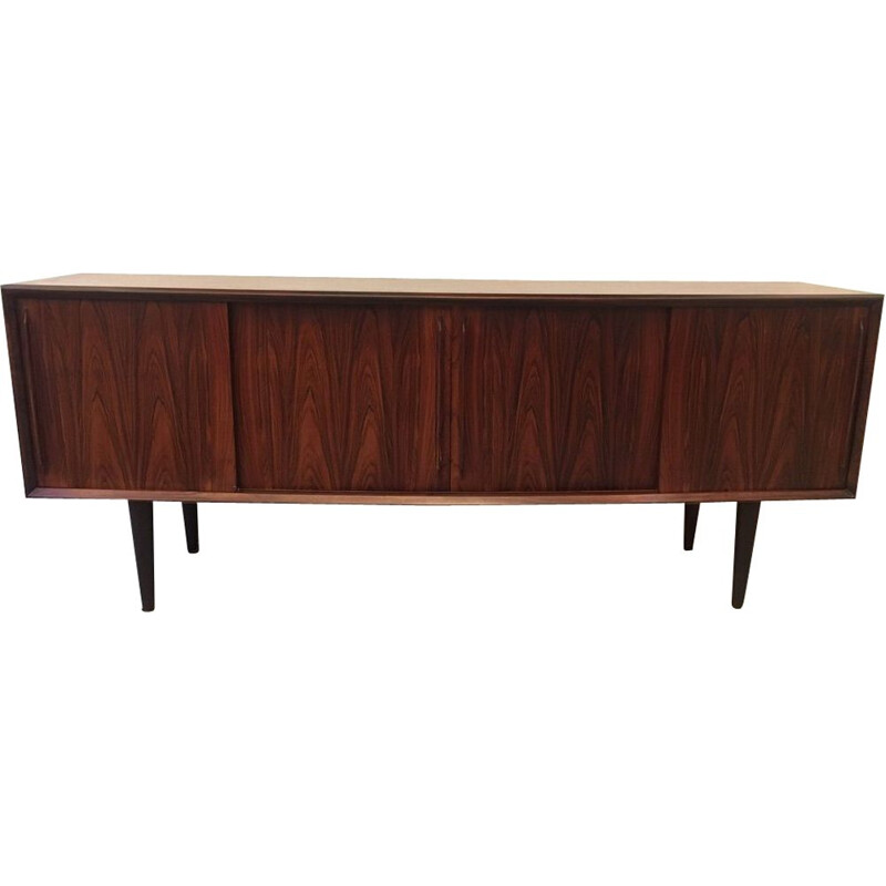 Vintage sideboard in rosewood Arne Vodder for HP Hansen, Denmark 1960s