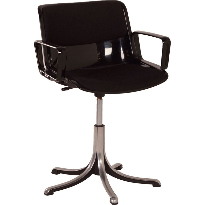Vintage desk chair Modus by Osvaldo Borsani for Tecno, Italy 1960s