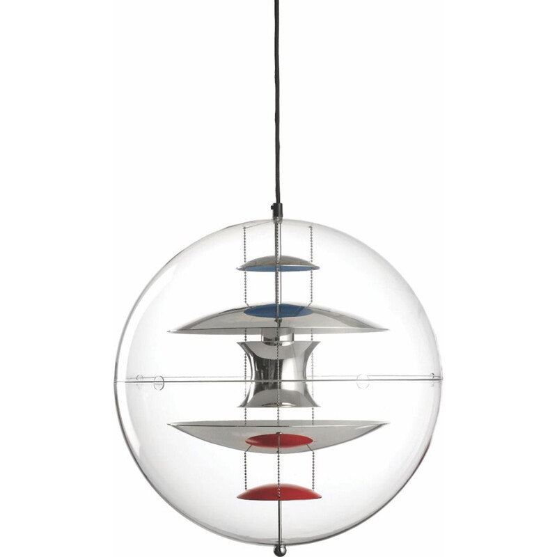 """VP Globe"" pendant lamp, Ø 50 cm, by Verner Panton for VERPAN"