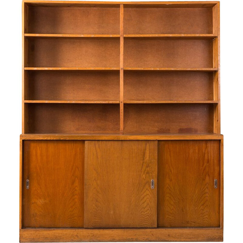 Vintage german wooden cabinet from the 1930s