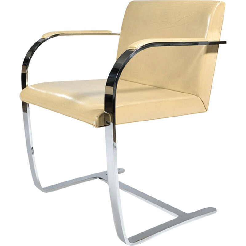 Vintage armchair Brno by Ludwig Mies Van Der Rohe for Knoll 1930