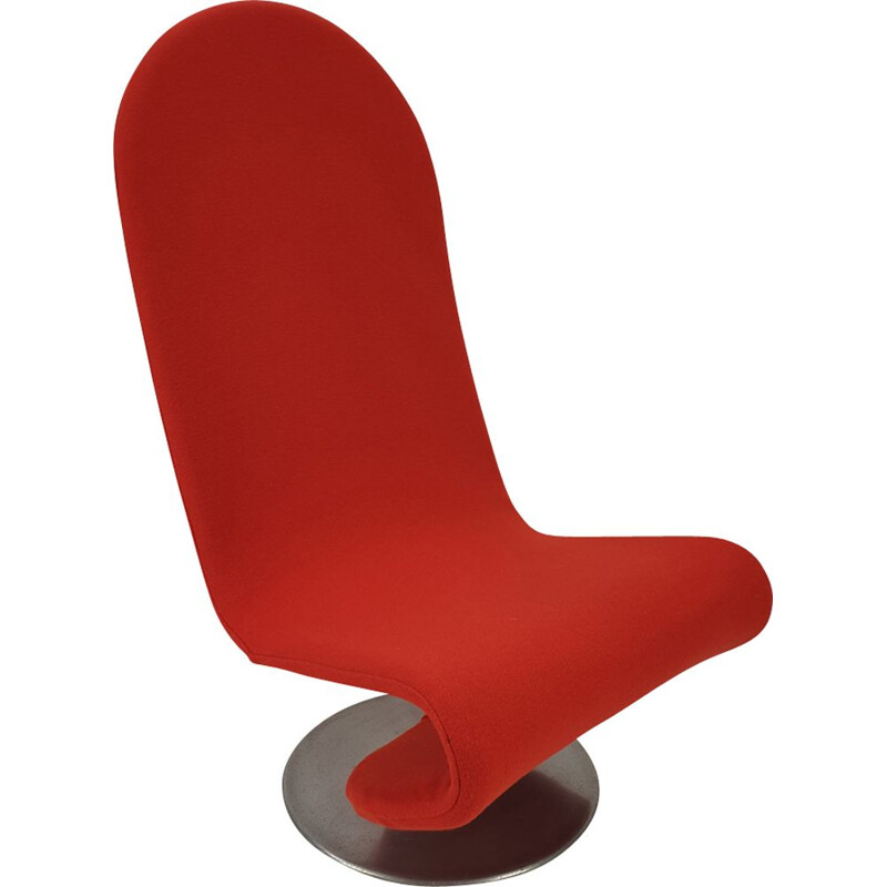 Vintage armchair by Verner Panton for Fritz Hansen 1980s
