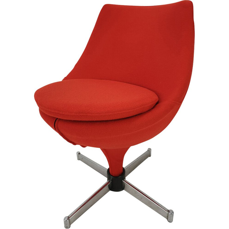 Vintage Polaris armchair by Pierre Guariche for Meurop 1963