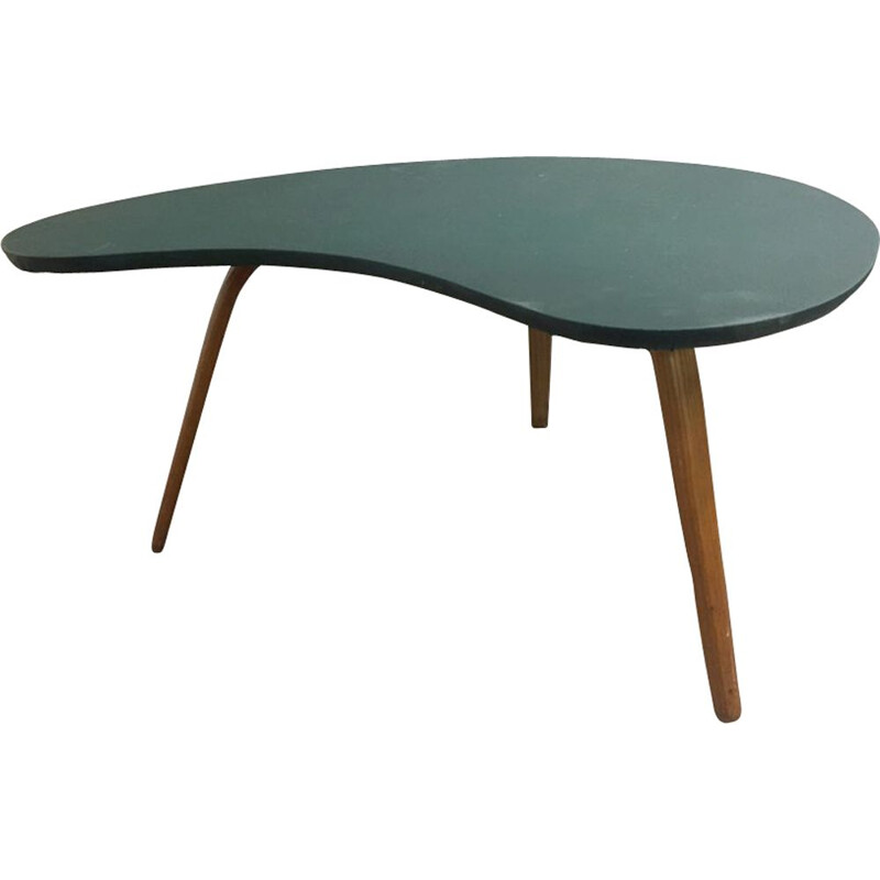 Vintage scandinavian coffee table for Steiner in wood 1960