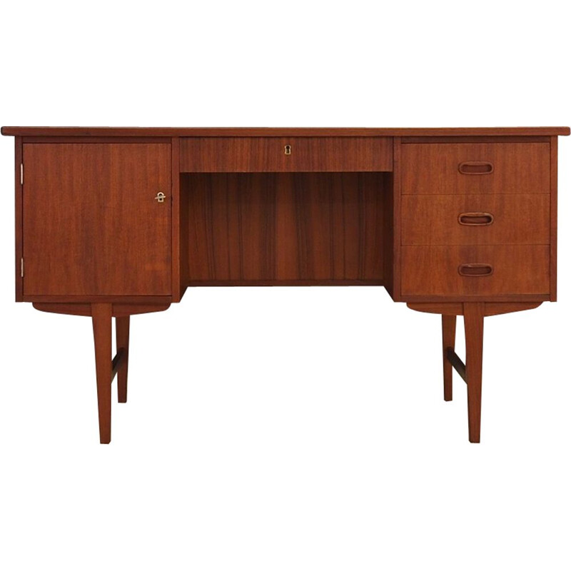 Vintage desk in teak from the 60s