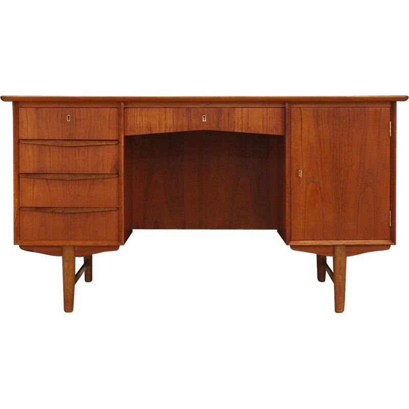 Vintage Danish desk in teak from the 60s