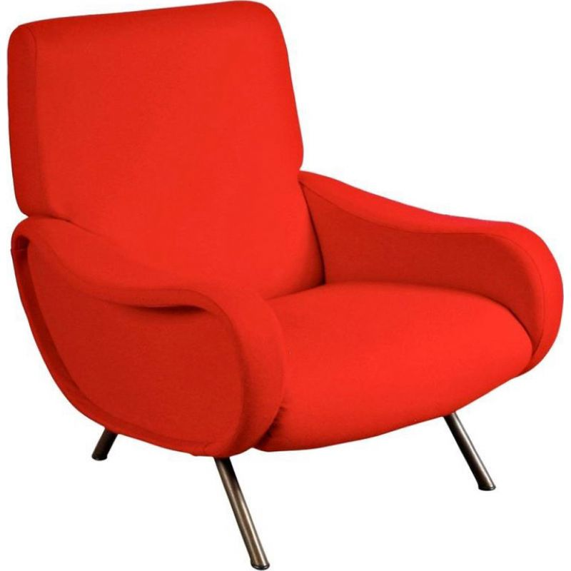 Vintage first edition Lady Easy chair by Marco Zanuso for Arflex