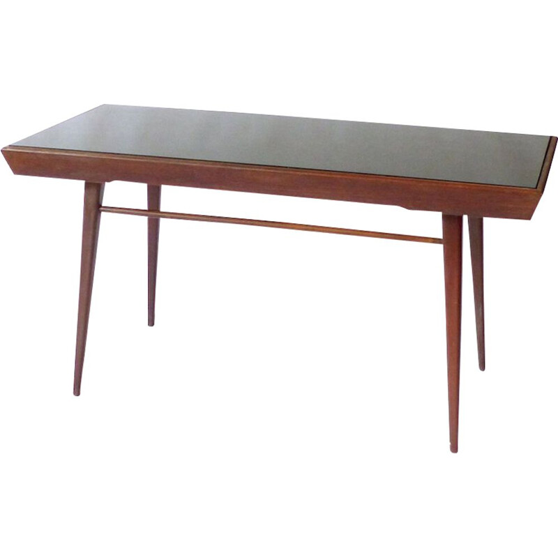 Vintage ash coffee table by Jiri Jiroutek 1960