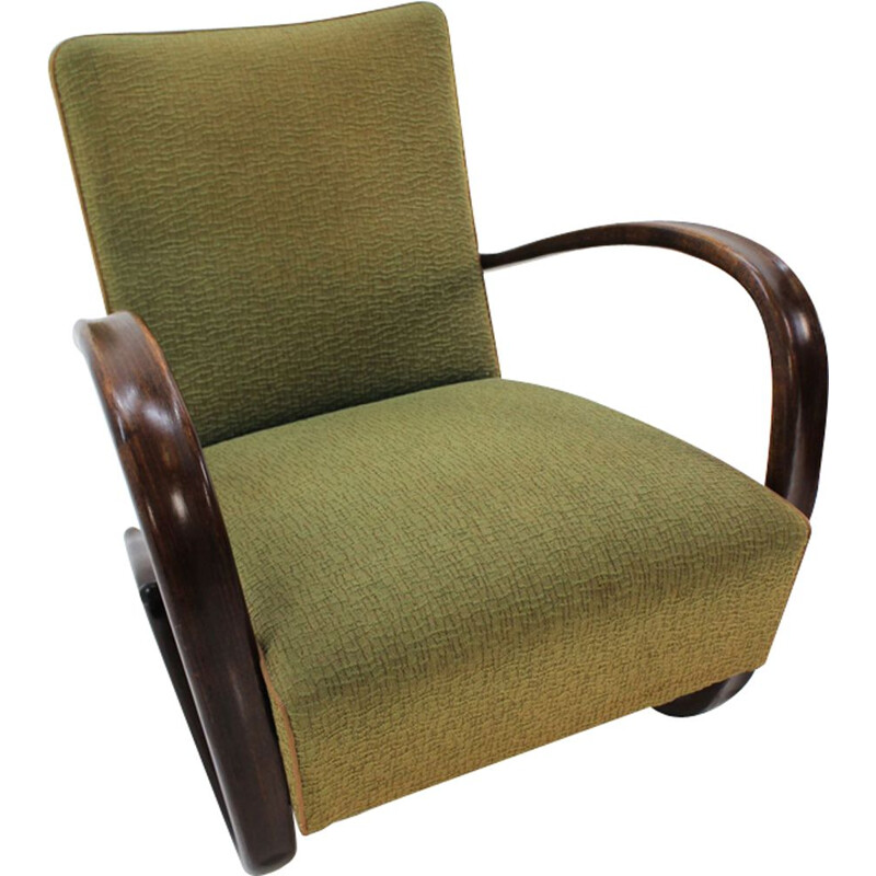 Vintage H269 Armchair by Jindrich Halabala for Up Zavody 1940