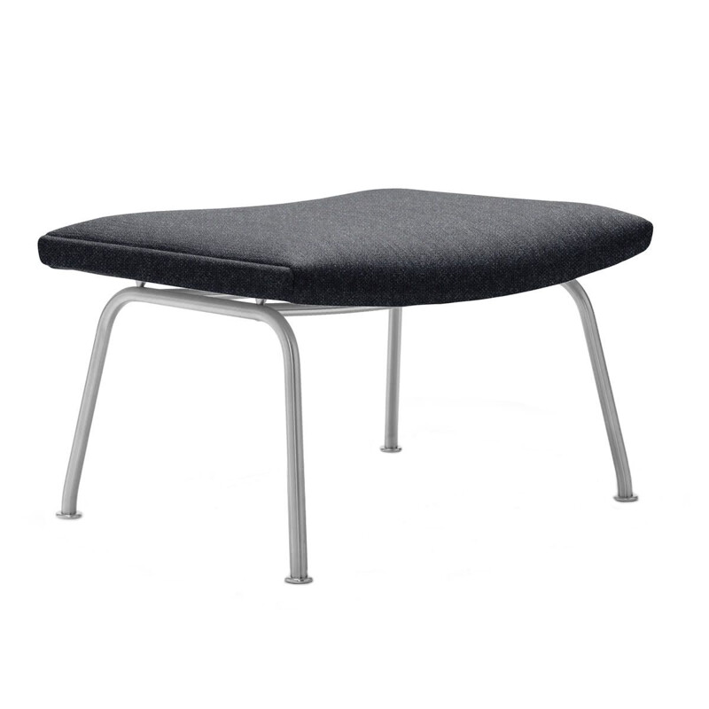 """CH446"" footstool in fabric by Hans J. Wegner for CARL HANSEN & SON"