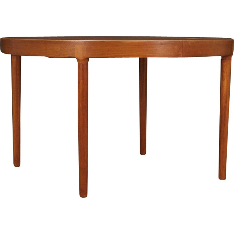 Vintage dining table in teak by Harry Østergaard for Randers Møbelfabrik Denmark 1960-70s