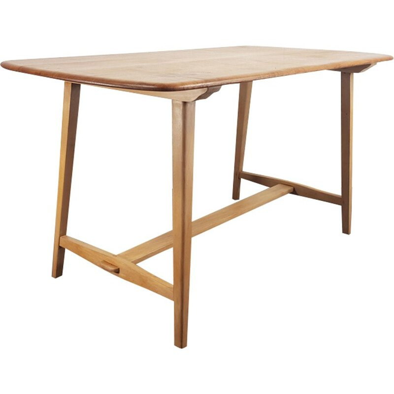 Vintage dining table CC 41 Plank by Lucian Ercolani for Ercol, 1940s
