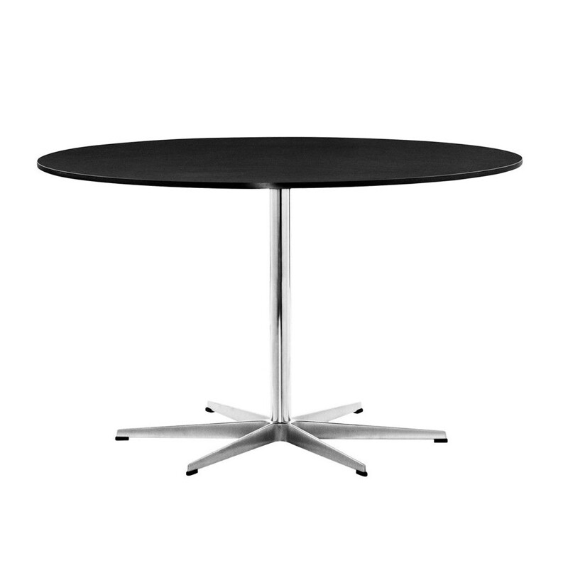 "Dining table ""Circular A825"" 120cm by Piet Hein & Bruno Mathsson & Arne Jacobsen for FRITZ HANSEN"