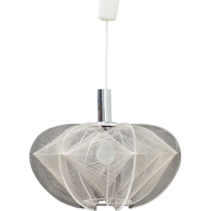 Vintage thread ceiling light Paul Secon for Sompex