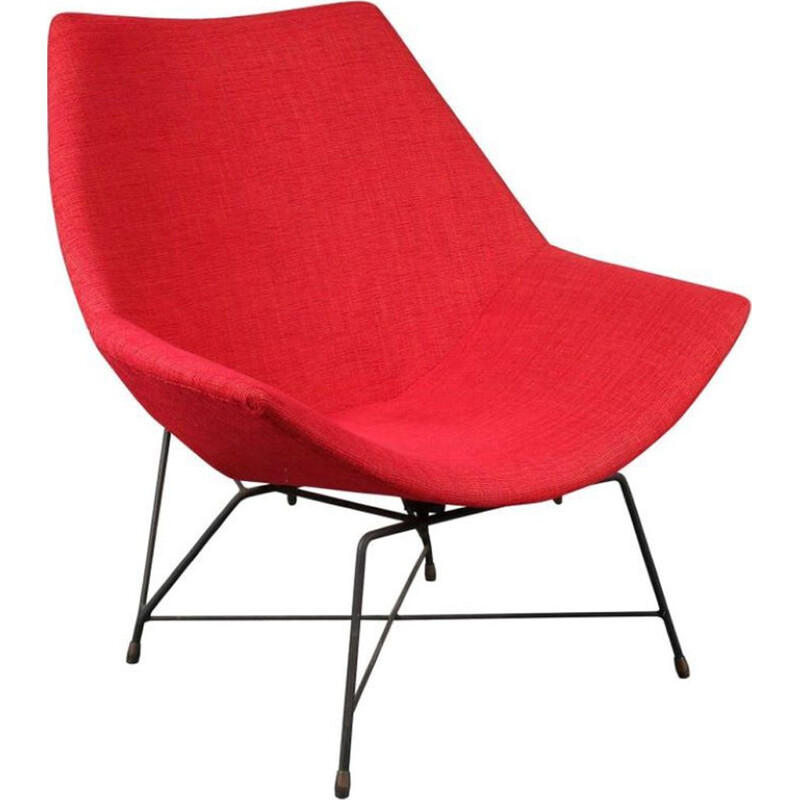 Vintage easy chair Kosmos by Augusto Bozzi for Saporiti, Italy, 1954