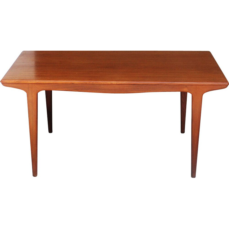 Vintage teak table by Johannes Andersen 1960