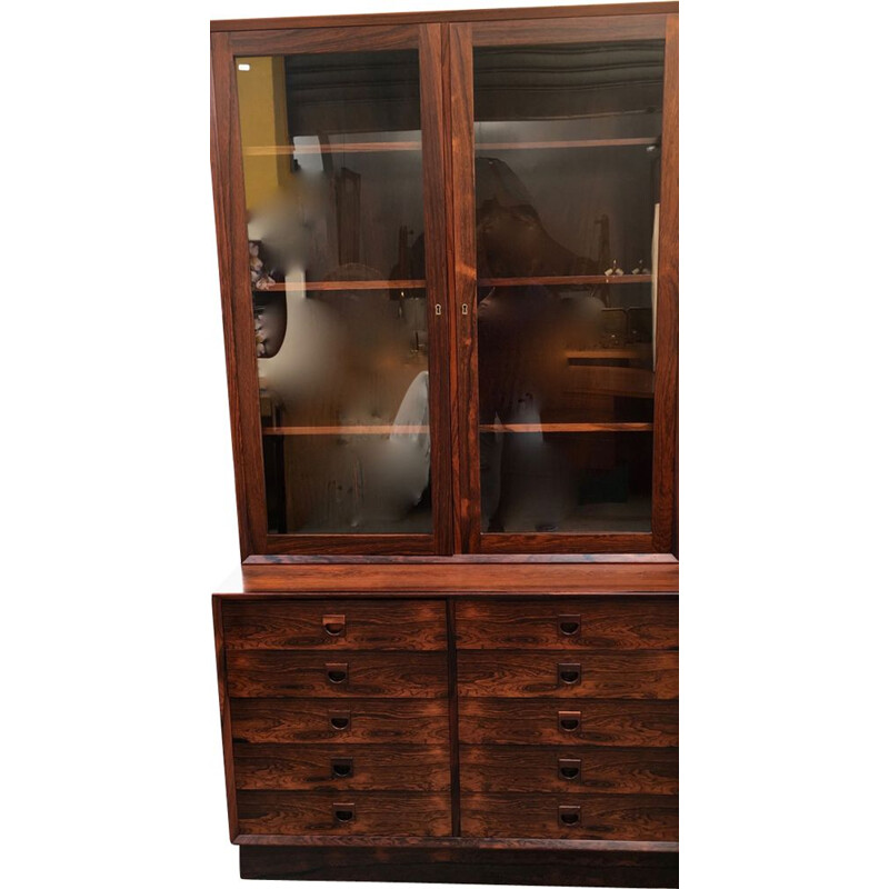 Vintage rosewood chest of drawers 1960