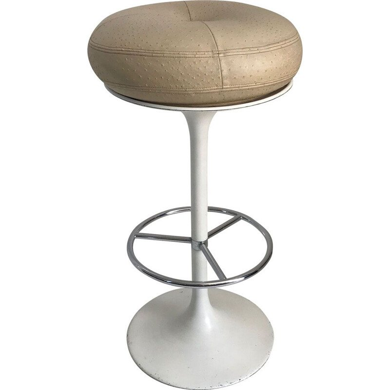 Vintage bar stool by Borge Johanson Scandinavian 1960