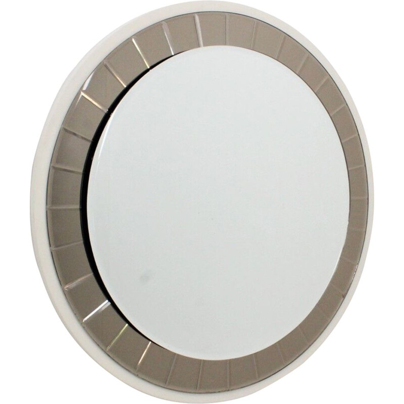 Italian vintage round mirror from the 50s
