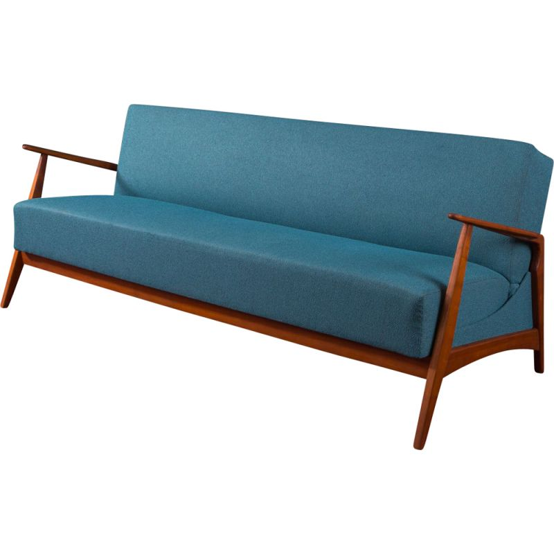 Vintage sofa in beech Germany 1960s