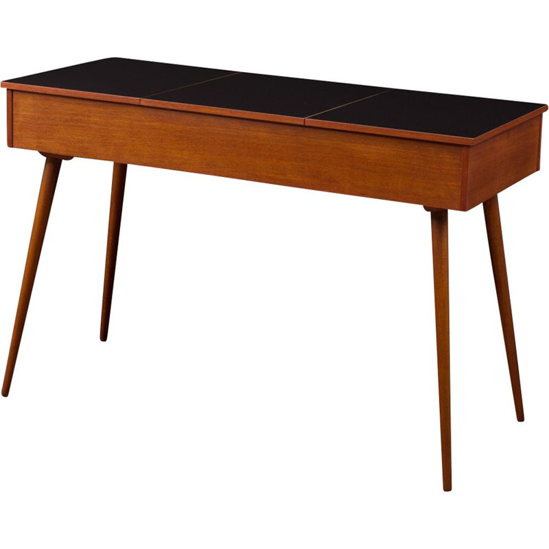 Vintage desk in macore Germany 1950s