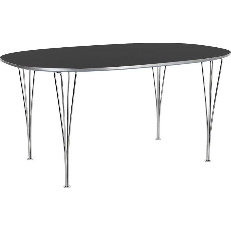 "Dining table ""Super-Elliptical"" 180cm by Piet Hein/Bruno Mathsson/Arne Jacobsen for FRITZ HANSEN"
