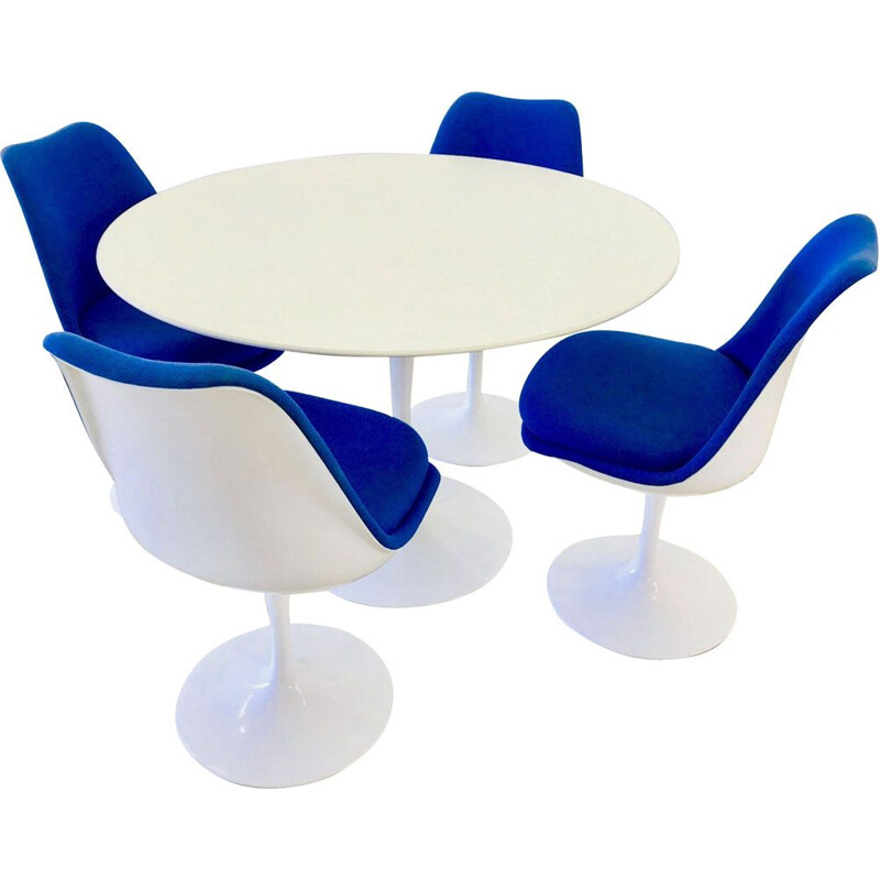 Vintage Tulip dining set by Eero Saarinen for Knoll,1990