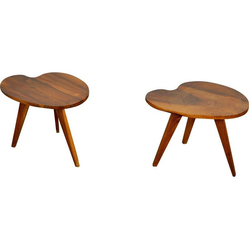 Vintage pair of side tables from the 60s