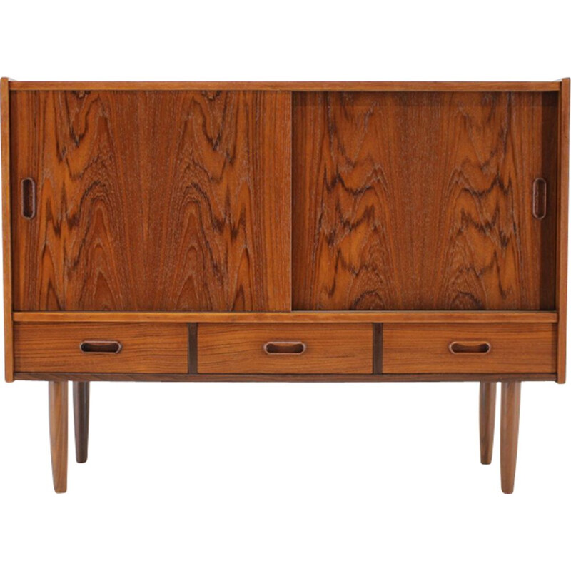 Vintage danish cabinet in teakwood 1960s