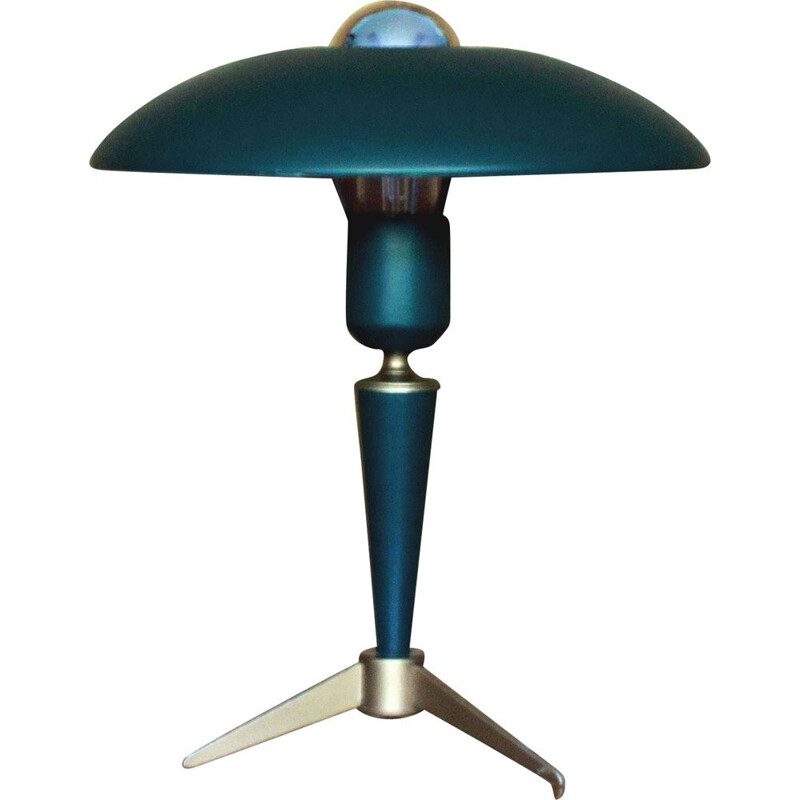 Vintage tripod lamp by Louis Kalff for Philips 1950