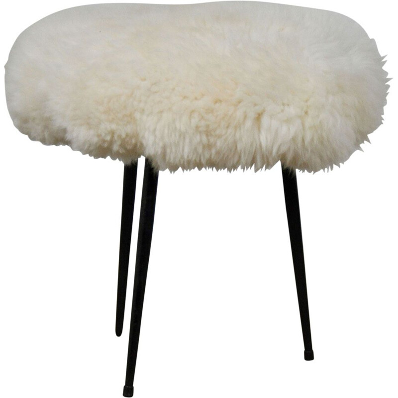 Vintage sheep stool 1975