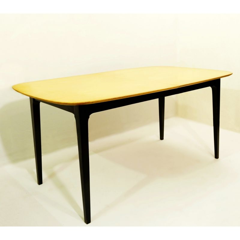 Table A Manger Vintage.Vintage Expandable Dinning Table 1950
