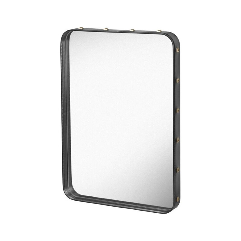 Rectangular mirror, 70*48, Jacques Adnet for GUBI