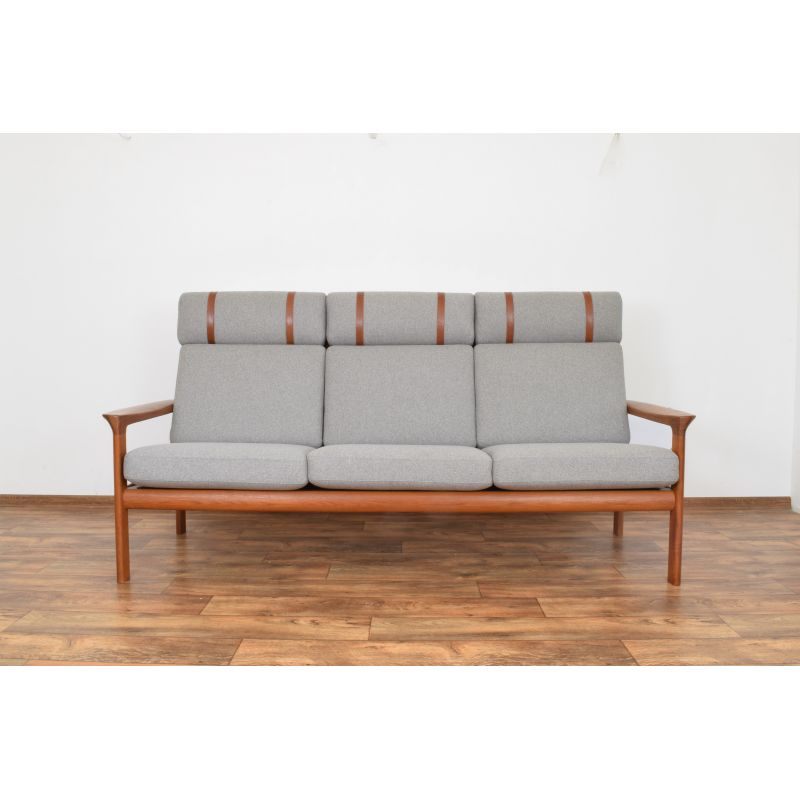 Fabulous Vintage Sofa In Teak Borneo By Sven Ellekaer For Komfort 1960S Gmtry Best Dining Table And Chair Ideas Images Gmtryco