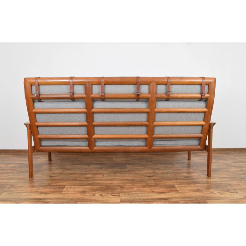 Superb Vintage Sofa In Teak Borneo By Sven Ellekaer For Komfort 1960S Gmtry Best Dining Table And Chair Ideas Images Gmtryco