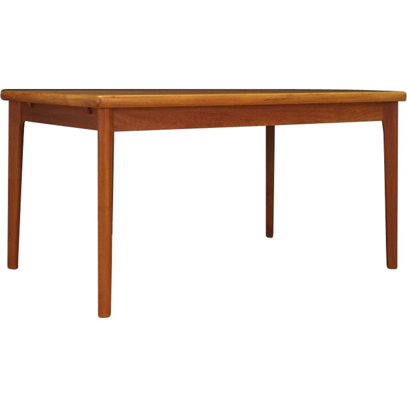 Vintage extendable table by Grete Jalk in teakwood 1960s